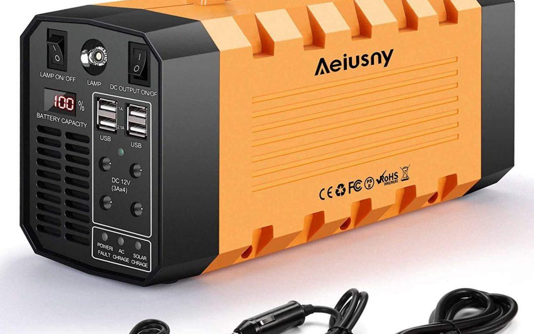 500W Aeiusny Portable Power Station